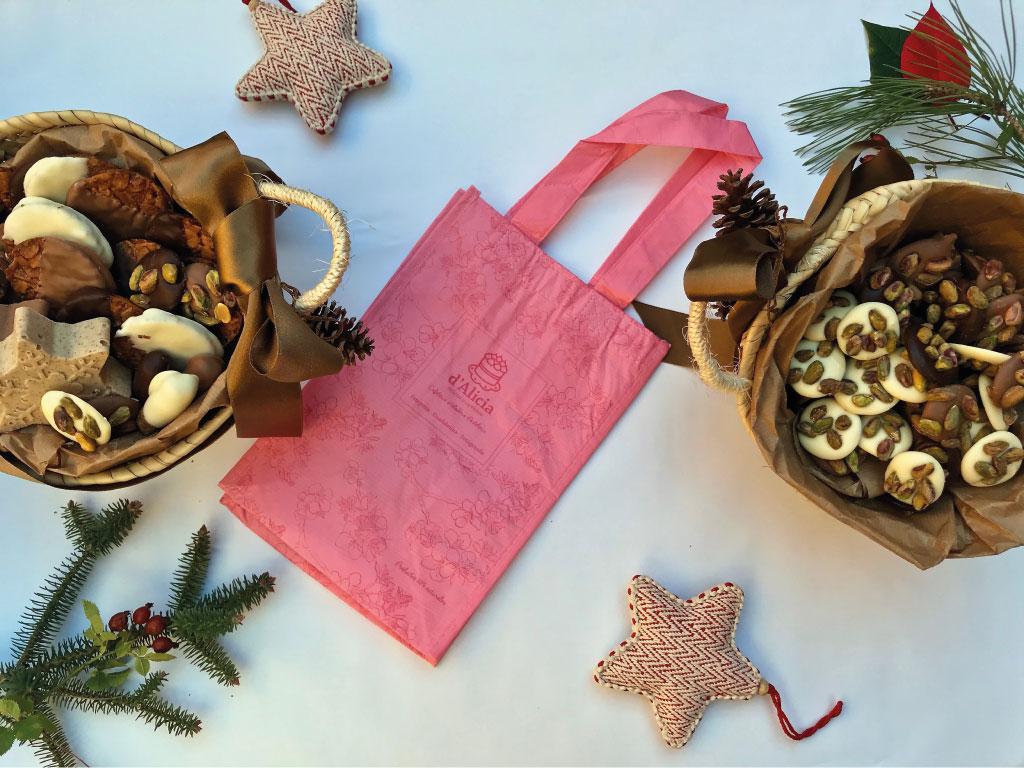 Dulces de Navidad en la pastelería d'Alicia